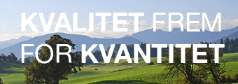 Kvalitet frem for kvantitet