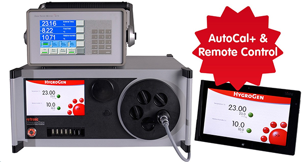 Rotronic HygroGen AutoCal+ & Remote Control
